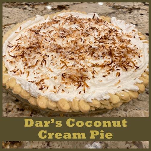 Dar's Coconut Cream Order