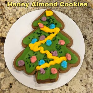 Honey Almond Cookies